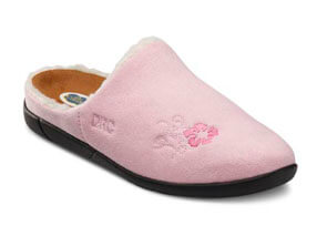 Cozy Pink orthotic shoes