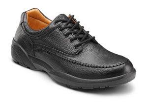 Stallion Black orthotic shoes
