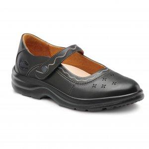 Sunshine Black orthotic shoes