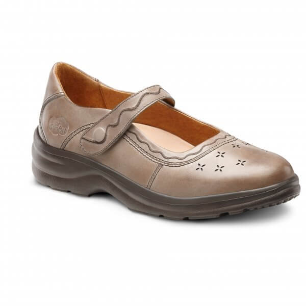 Sunshine LtBrown orthotic shoes