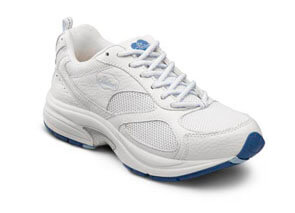 Victory Plus White orthotic shoes
